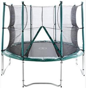 cama elástica FUN con red de protección