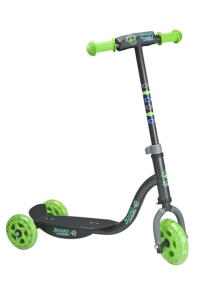patinete kiddy scooter joey green de hudora