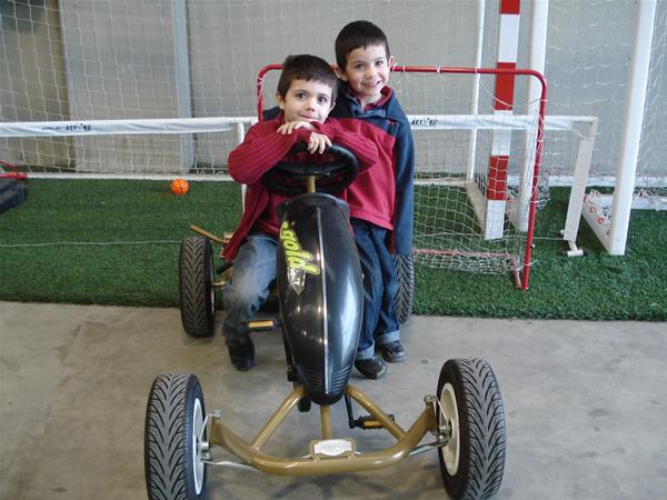 ganadora sorteo coche de pedales berg toys