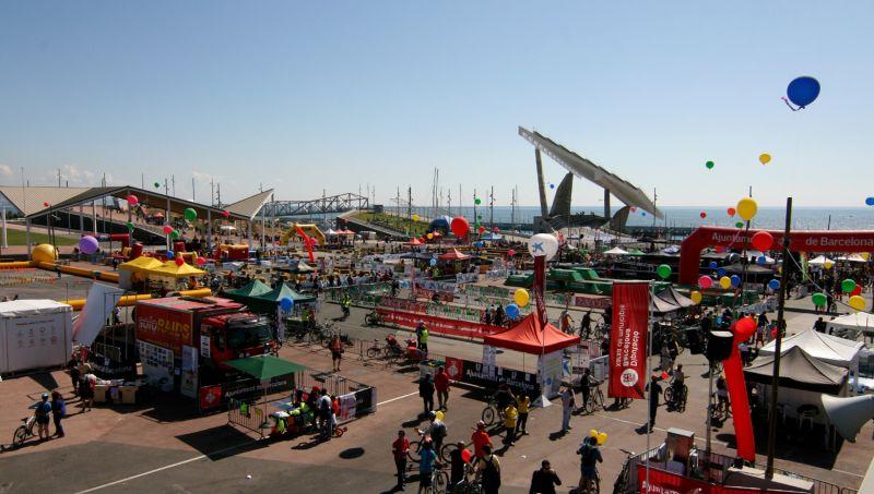 Vista del Bike Show Barcelona