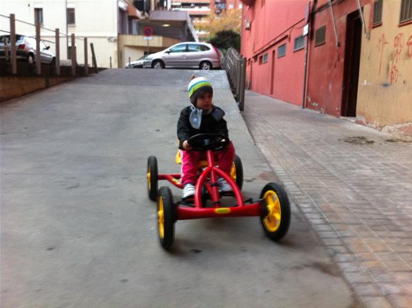 coche de pedales regalo topludi
