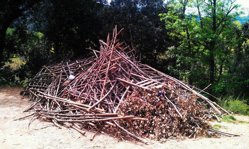 Desaparece el bosque mágico d'en Garrell