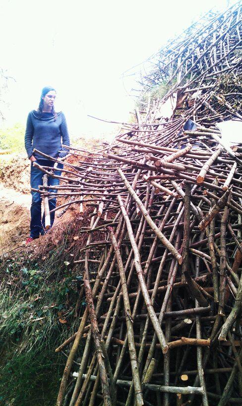 El final de un sueño, el bosque de cabañas d'en Garrell