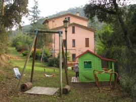 turismo rural con juguetes para los niños