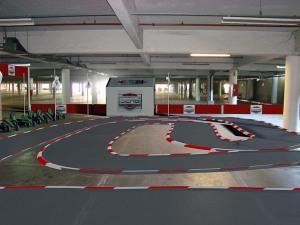 circuito coches de pedales berg toys interior