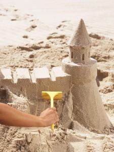 areneros y castillos construcción con arena
