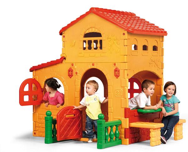casita infantil grande villa feber